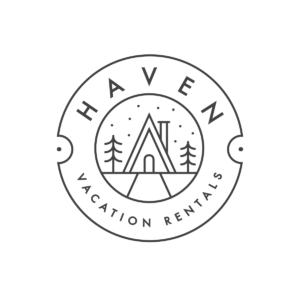 haven vacation rentals logo white